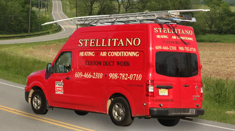 Stellitano Heating & Cooling Service Truck